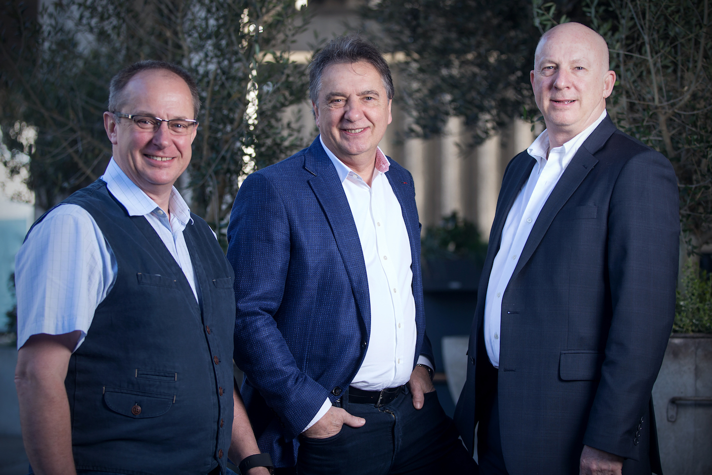 Clive Fretwell (Executive Chef), Raymond Blanc & Mark Derry